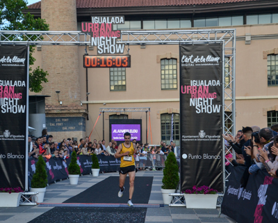 21-05-2016.  Igualada Urban Running Night Show. Cursa 5 kms.