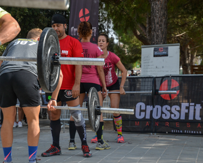 01-10-2016. Benet Games - exhibició crossfit
