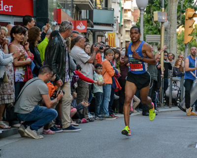 20-05-2017. Igualada Urban Running Night Show. Cursa 10 kms.